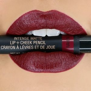 Intense Matte Color Lip + Cheek Pencil